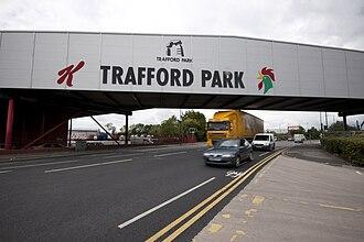 Kellogg's - Image: Trafford park kelloggs bridge