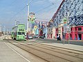Tram and Pleasure Beach - geograph.org.uk - 1384928.jpg