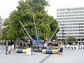 Trampolining in Cathedral Square, Christchurch, NZ (4279333101).jpg