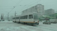 Файл:Tramvaie bucureștene iarna Bucharest trams in winter 2014-01-26-gTE7-T1BJMw.webm