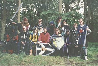 Treasure Trap - A party ready to start a Birmingham Trap event in 1997