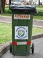 Trash bin Peru Lima Miraflores Parque.jpg