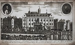 German mediatization - Contemporary engraving celebrating the Treaty of Lunéville