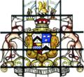 Trefusis HeraldicAchievement BictonHouse Devon.png