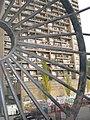 Trellick Tower and metal wheel, Elkstone Road W11 - geograph.org.uk - 1561704.jpg