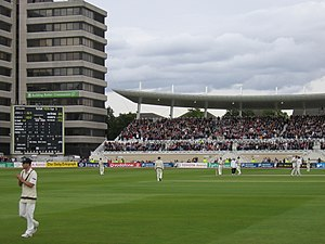 2005 Ashes series - Flintoff reaches 100