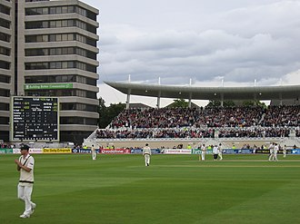 Trent Bridge - Image: Trent Bridge, Flintoff century, 26 Aug 2005