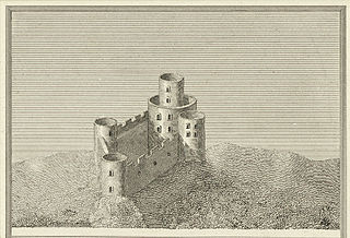 Tretower Castle: From a survey in the beginning of the 16th century