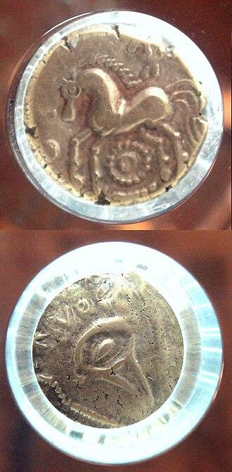 Treveri - Treveran stater, gold, 6.00g. Monnaie de Paris.