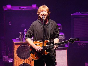 Trey Anastasio - Anastasio at Red Rocks Amphitheater on July 30, 2009