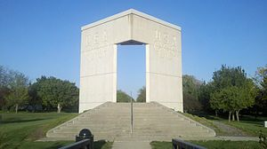 Dodds Park - Tribute to Olympic Athletes, Dodds Park, Champaign, Illinois