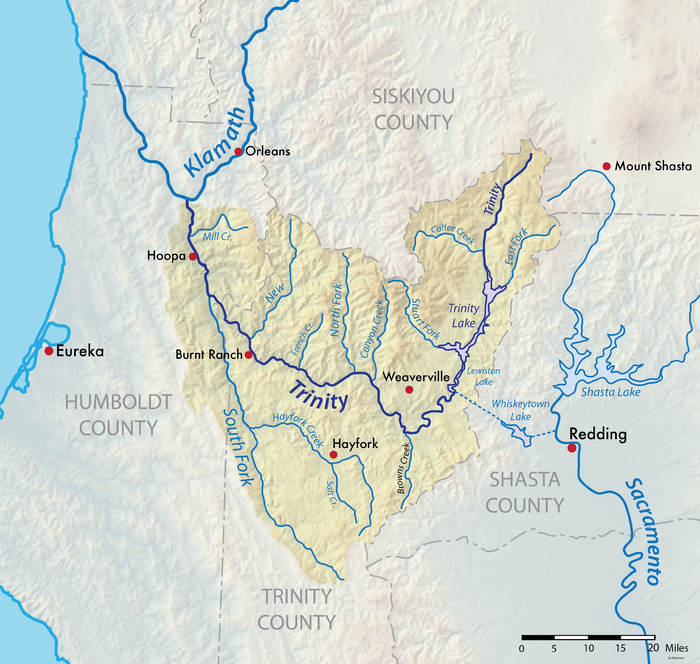upper trinity river watershed - HD3583×3400