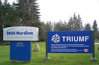 TRIUMF - TRIUMF entrance