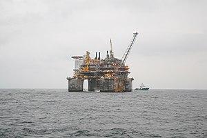 Troll gas field - Troll B platform