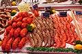 Trouville-Marché au poisson-Homards et gambas-20120916.jpg