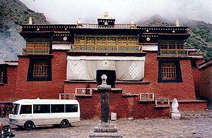 Tsurphu Monastery - Reconstructed Tsurphu Monastery, 1993