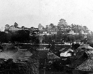 Japanese historical estate in Mimasaka province