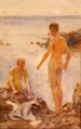 Tuke, Henry Scott (1858–1929) - 1921 - Boys bathing on rocks.jpg