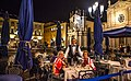Turin, Italy…City highlights…Sanne & Marg at a typical streetside restaurant (10830958336).jpg