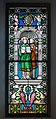 Two Angels Stained glass window in the Saint Antony church in St. Ulrich in Gröden.jpg
