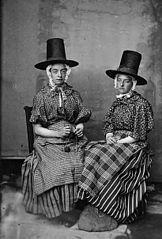 Two women in national dress (Whitaker)