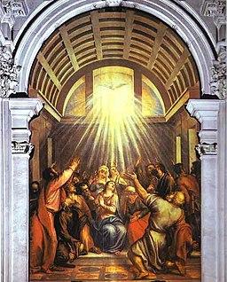 Tycjan Cud zesłania Ducha Świętego