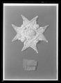 Tygfragment av svart kläde - Livrustkammaren - 78356.tif