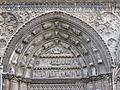 Tympan transept cathédrale Bayeux.JPG