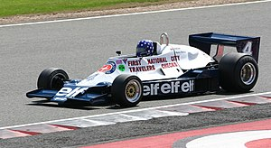 Tyrrell 008 - Image: Tyrrell 008 2008 Silverstone Classic