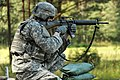 U.S. Army 1st Lt. Herrington Fires M16 (7637616066).jpg