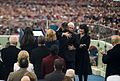 U.S. Vice President Michael R. Pence hugs his family members, Jan. 20, 2017.jpg