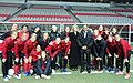 U.S. Women's Soccer team in Vancouver with Consul General Anne Callaghan.jpg