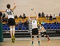 UFV men's volleyball vs Cap Nov 7 2014 06 (15760951385).jpg