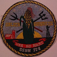 USS No Name (SSBN-728) patch