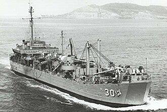 USS Askari (ARL-30) - Image: USS Askari ARL 30