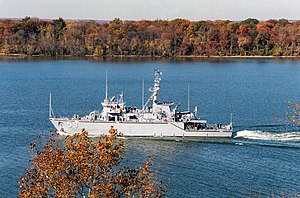 USS Falcon on the Potomac River, 2000