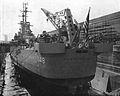 USS Newport News (CA-148) in drydock c1955.jpg