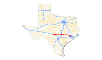US 290 (TX) map.svg
