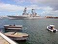 US Navy 030119-X-0000X-001 USS Fletcher (DD 992) pulls pierside to begin the first.jpg