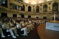 US Navy 040519-N-2383B-073 Chief of Naval Operations (CNO) Adm. Vern Clark, discusses important leadership concepts with the 2004 U.S. Naval Academy graduating class.jpg