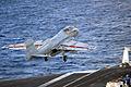 US Navy 090615-N-9132C-186 An EA-6B Prowler launches from the aircraft carrier USS Ronald Reagan (CVN 76).jpg