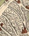 Uitsnede kaart Brugge door Marcus Gerardus; Gezellekwartier.jpg