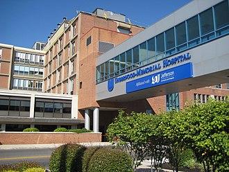 Inspira Health Network - Image: Underwood Memorial Hospital