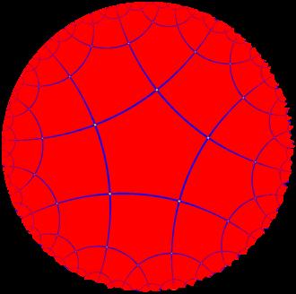 Order-4 pentagonal tiling - Image: Uniform tiling 54 t 0