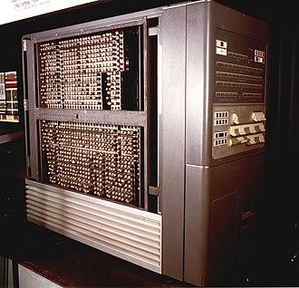 IBM 704 - IBM 704 at the Museo Nazionale Scienza e Tecnologia Leonardo da Vinci, Milan