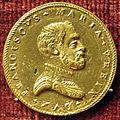 Urbino, medaglia di francesco maria della rovere 2, recto (oro).JPG