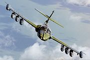 Uruguayan Air Force Cessna OA-37B Dragonfly (318E) Lofting