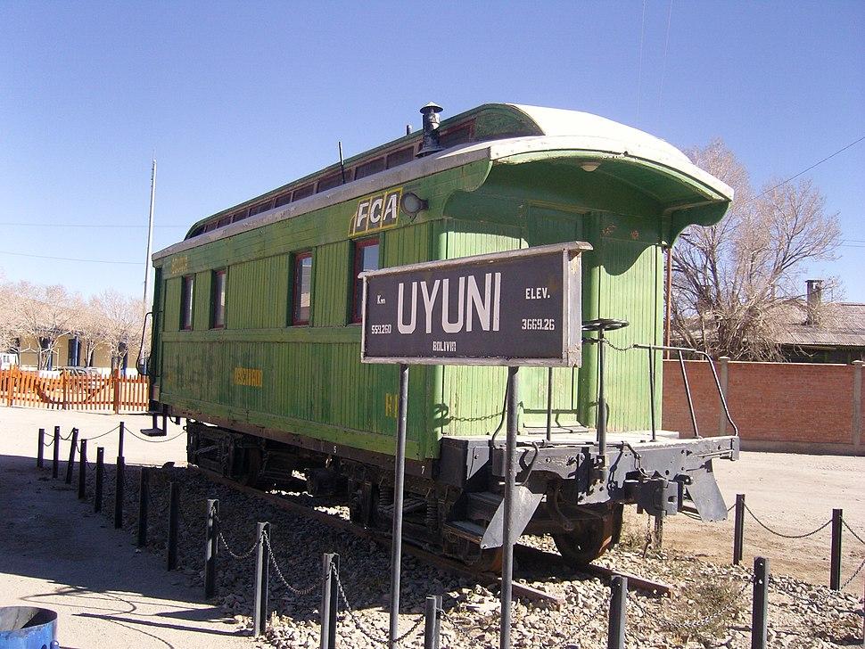 Uyuni, Estaci%C3%B3n de Ferrocarril Uyuni, Potos%C3%AD - Bolivia