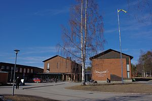 Västerbottens Museum - Museum photographed in March 2014.