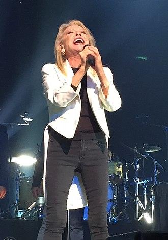 Véronique Sanson - Véronique Sanson live at the Seine musicale, Boulogne-Billancourt, France, 2018.